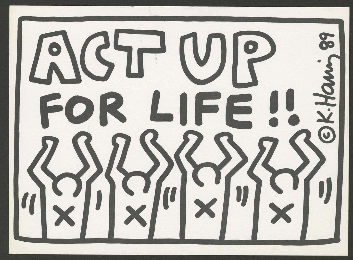 Built from his own words and past interviews, a new Keith Haring film comes to the BBC