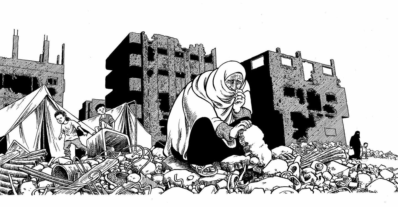Drawing War Through The Eyes Of Joe Sacco: The unorthodox ...