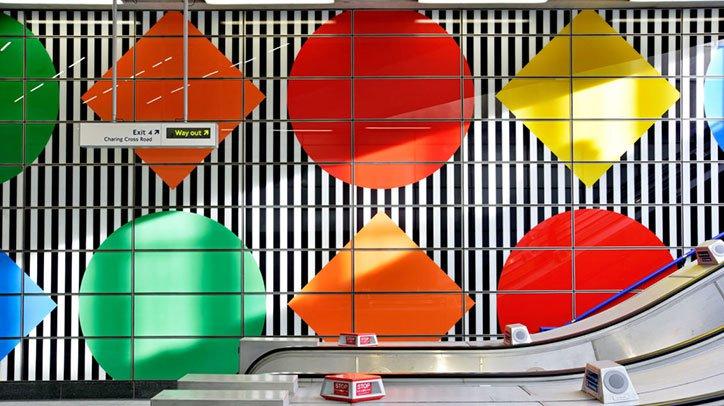 Daniel Buren Says Tottenham Court Road Tube Station Artwork Is A Bubble Of Oxygen For The Spirit