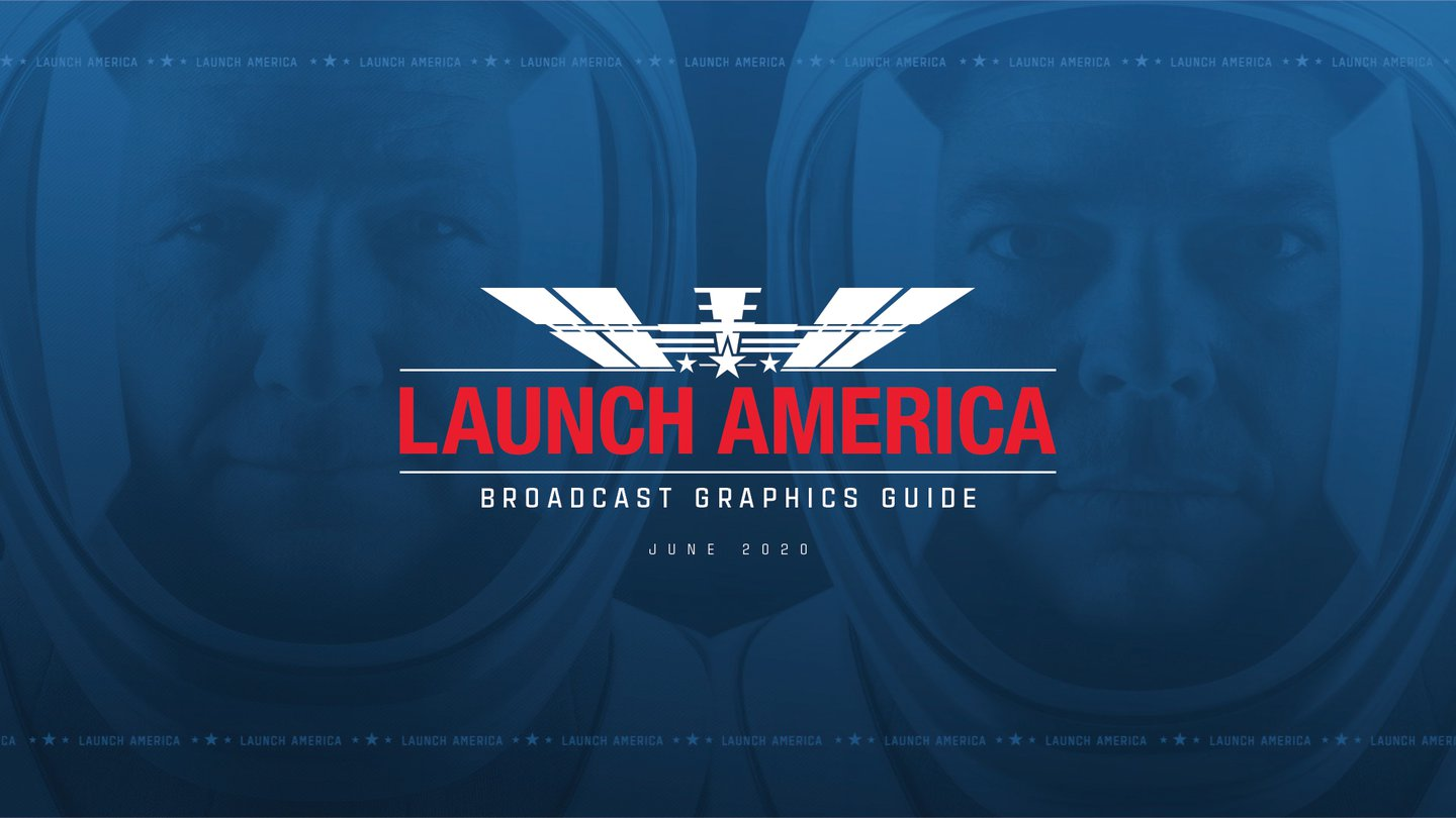 Exploring Nasa and SpaceXs Launch America graphic identity