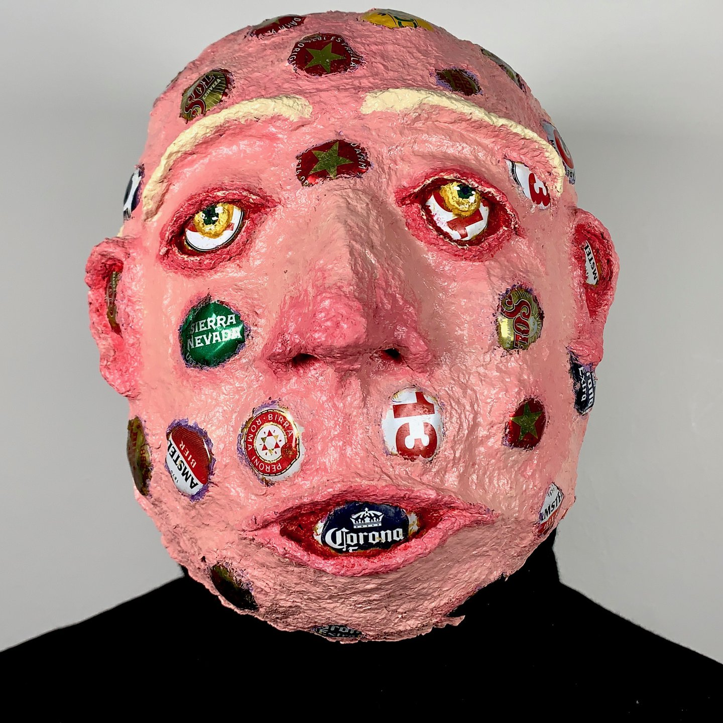 Throughout the entirety of 2020, Charlie Goodall committed to making a mask a day