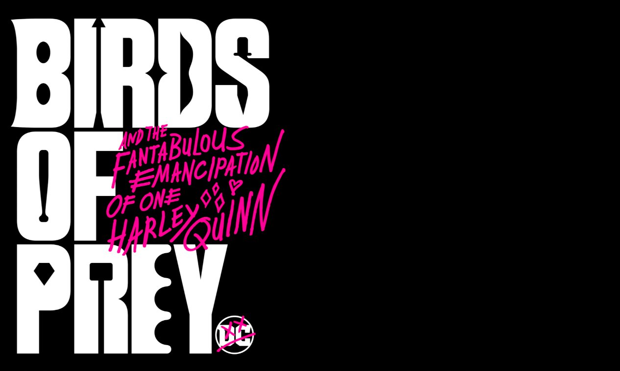 Behind Pentagram S Graphic Identity For Dc S Harley Quinn Film Birds Of Prey
