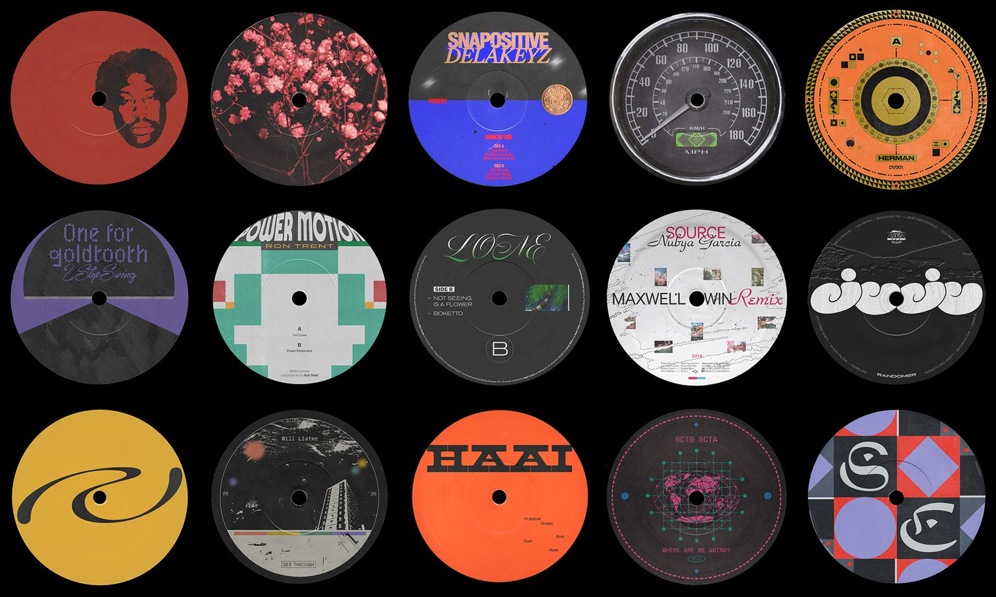 Dreaming Vinyl is a platform that turns songs into animated vinyl stickers