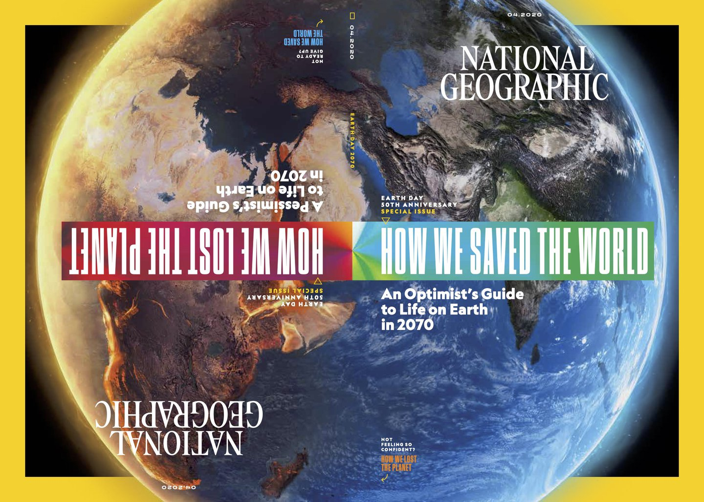 National Geographic's creative director explains the Optimism vs Pessimism issue