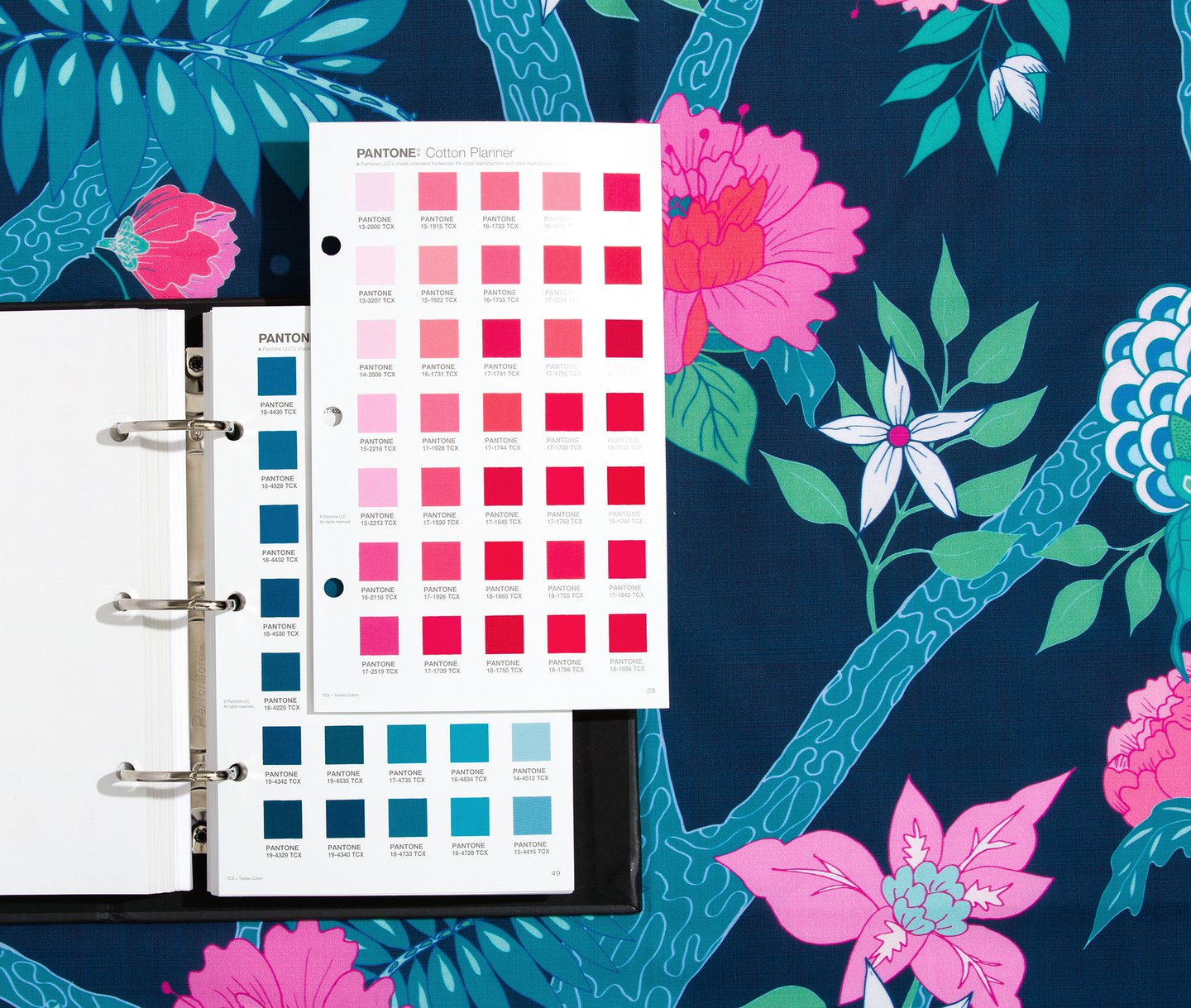 Pantone adds 315 new colours, including 70 blues and 50 pinks