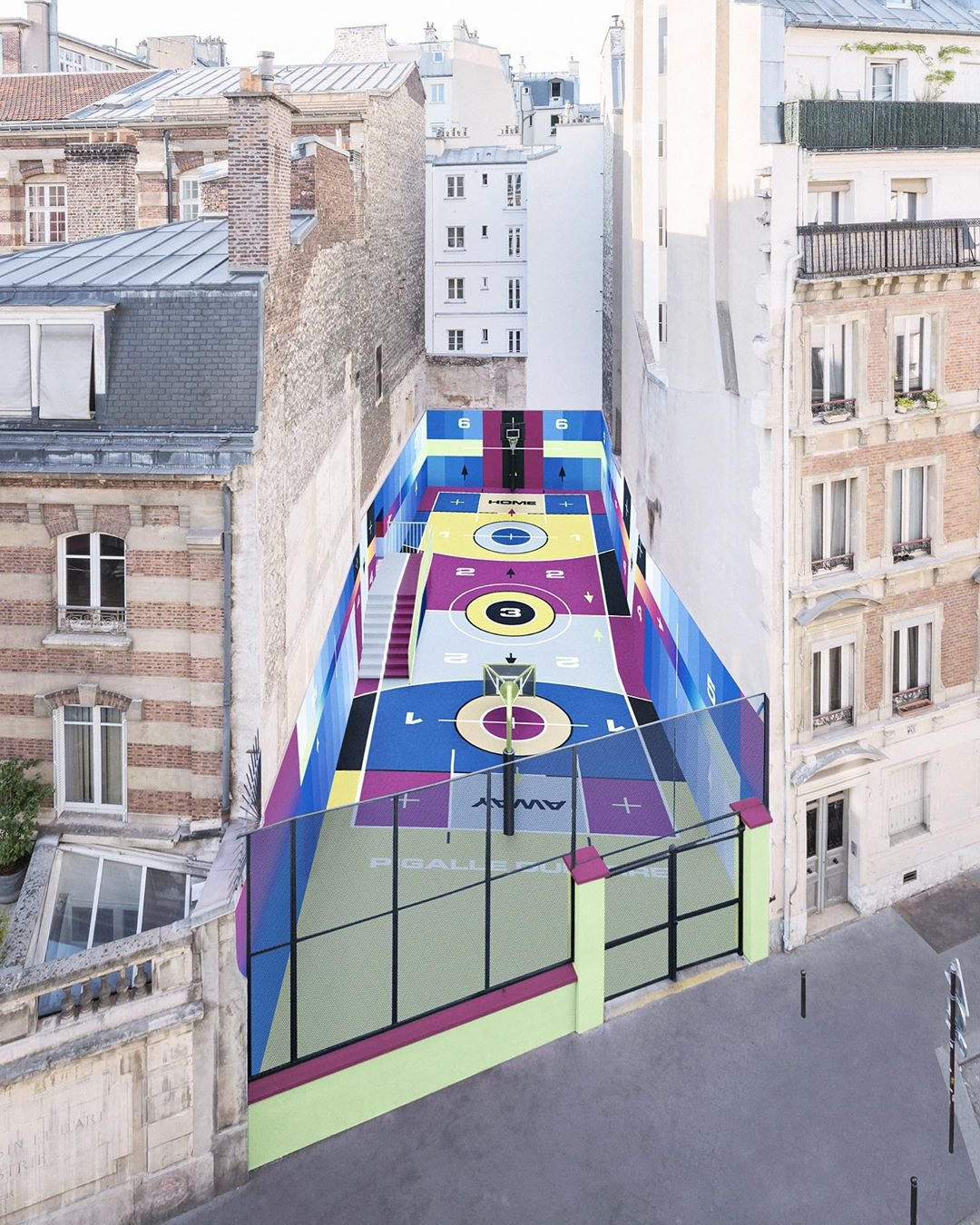 Pigalle Duperré basketball court 2020 unveiled by Nike ...