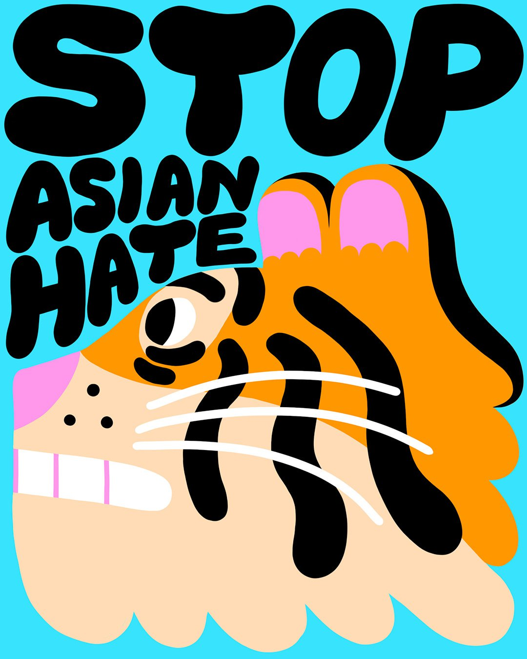 Yuk Fun and a gang of illustrators are raising money for Stop Asian Hate charities